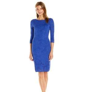 NWT Calvin Klein Women's 3/4 Sleeve Floral Dress